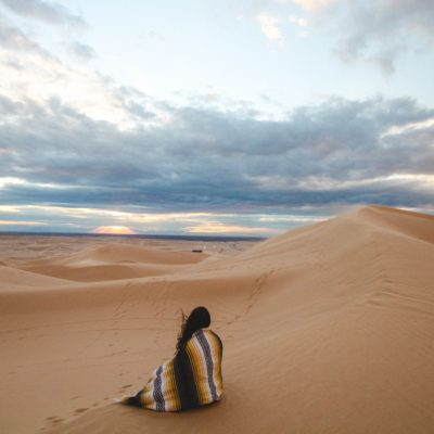Leaning into God in the Desert