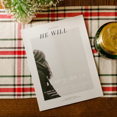 "Printable Advent Bible Study – ""He Will"" Part 1"