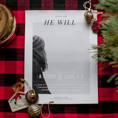"Printable Advent Study – ""He Will"" Part 2"